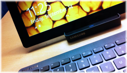 Samsung slate with Windows 8